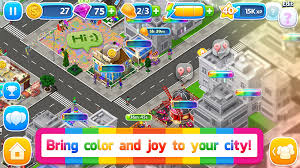 City Building Social Sim Game